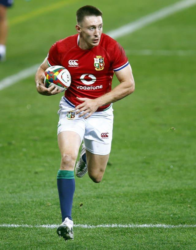 Josh Adams has been in prolific try-scoring form for the Lions