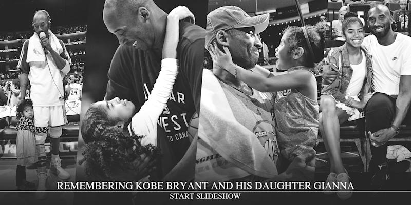 Remembering Kobe Bryant and his daughter Gianna (Getty/AP Images)