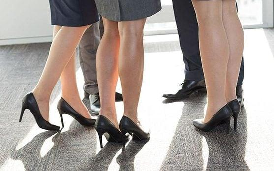 MPs to debate making it illegal to force women to wear high heels at work - REX