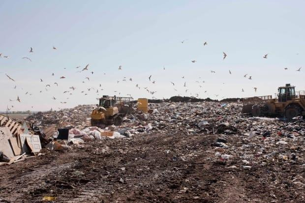 The Alberta government is launching consultations to design a program that aims to reduce landfill waste by transferring recycling costs to companies, Minister of Environment and Parks Jason Nixon announced Wednesday. (City of Calgary - image credit)