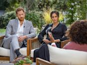 """<p>Especially for someone who had been silenced for so long, there's power in being able to publicly take ownership of your story, Gaylor said. It's a form of healing and a kind of """"narrative therapy approach"""" to be able to share your story in a way that gives you confidence, she explained. That tracks on to why Markle herself told Oprah she was ready to speak out: because she wanted to share her side of the story, own her experiences, and move forward.</p> <p>At the same time, sharing your story can make you feel intensely vulnerable and """"relatively exposed,"""" Gaylor said. It's imperative to have a support system in place to help you during and after you speak this kind of painful truth, be it family, friends, or a mental health professional. </p>"""