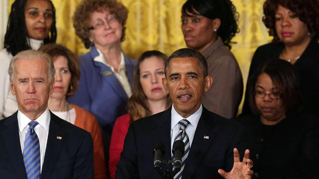 Obama Implores Congress, 'Shame on Us If We've Forgotten' Newtown'
