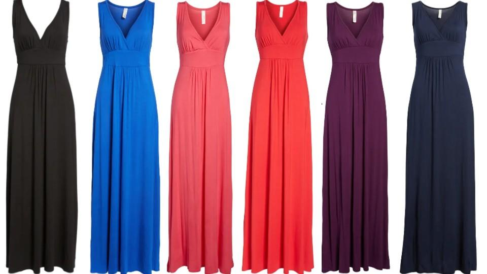 Loveappella V-Neck Jersey Maxi Dress - Nordstrom, $48 (originally $68)