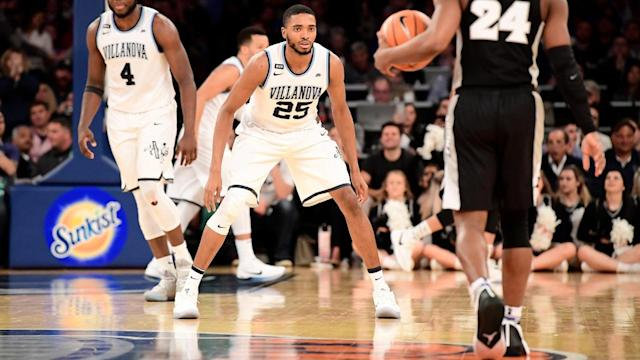 NBA draft prospect Mikal Bridges has been linked with the New York Knicks, who have the No. 9 pick. Bridges admits that he's played his best under the MSG lights, which could help him thrive with Kristaps Porzingis and company.
