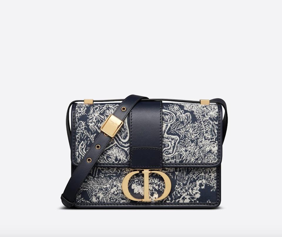 <p>We can't stop daydreaming about this <span> Dior 30 Montaigne Bag </span> ($3,800). The print is so unique yet will look good with everything.</p>