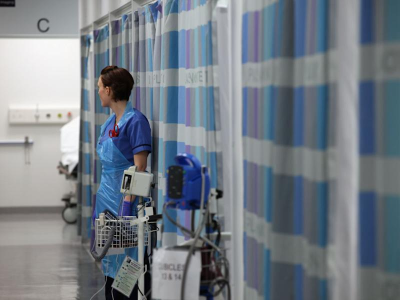 Labour has promised to scrap the one per cent cap on pay rises for NHS workers and raise funds for more staff through a rise in corporation tax: Getty