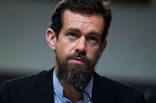 PHOTO: Jack Dorsey, Twitter CEO testifies during a Senate (Select) Intelligence Committee hearing on Capitol Hill in Washington, Sept. 5, 2018. (CQ-Roll Call, Inc via Getty Images)