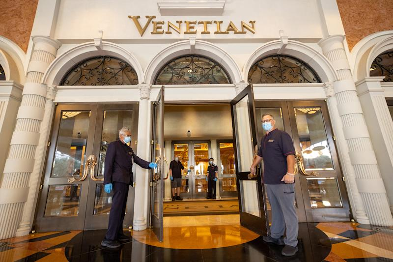 The Venetian Clean Commitment was designed to enhance safety and minimize risk for our visitors and Team Members. It ensures the hygiene and sanitation practices of our resort meet or exceed regulatory requirements.