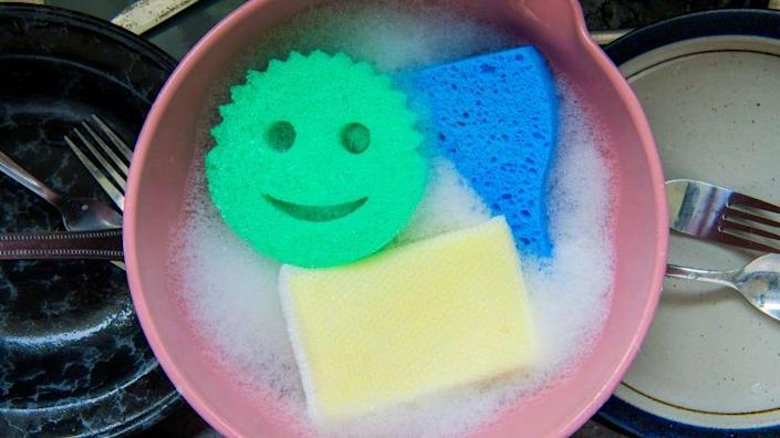 The Scrub Daddy is one of the best kitchen sponges you can buy.