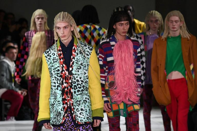 Fright wigs: Many Instagram users were offended by the Comme des Garcons hairstyle, accusing the brand of cultural appropriation
