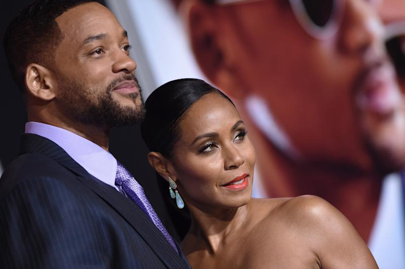 Jada Pinkett Smith and her husband, Will Smith, are parents to 19-year-old Jaden and 16-year-old Willow.  (Axelle/Bauer-Griffin via Getty Images)