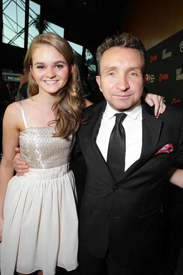 Kerris Dorsey and Eddie Marsan at the Showtime premiere of the new drama series Ray Donovan presented by Time Warner Cable, on Tuesday, June, 25, 2013 in Los Angeles. (Photo by Eric Charbonneau/Invision for Showtime/AP Images)