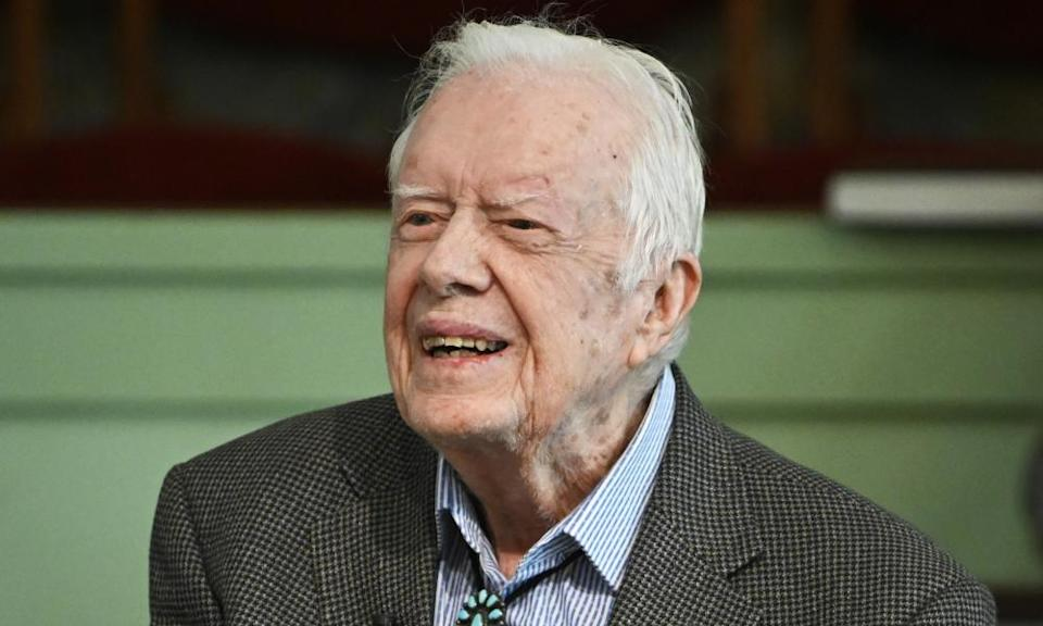 Former president Jimmy Carter, 96, is the longest lived US president in history.