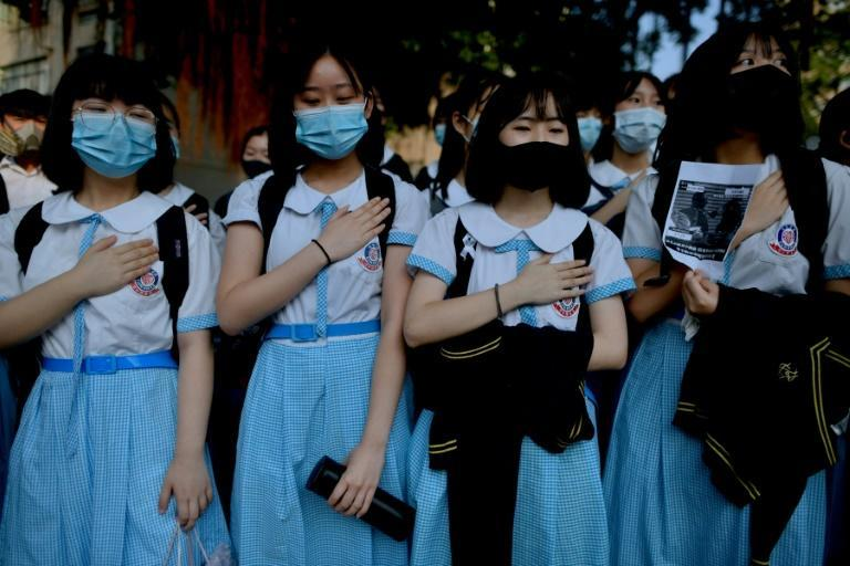 Hong Kong's Education Bureau issued new guidelines for schools warning there is 'no room for debate or compromise' over national security