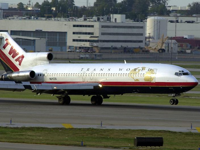 Trans World Airlines Boeing 727