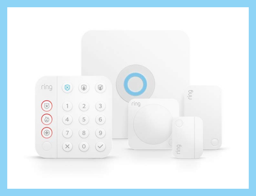 The Ring Alarm Kit (5 piece) is perfect for apartment and condo-dwellers — save 40 percent for Prime Day! (Photo: Amazon)