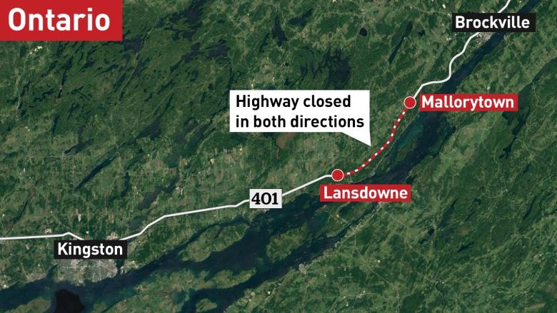 Mayors disappointed by province's response to Hwy. 401 concerns