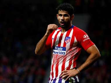 LaLiga: Diego Costa suffers ankle ligament injury during Atletico Madrid's friendly against Beitar Jerusalem