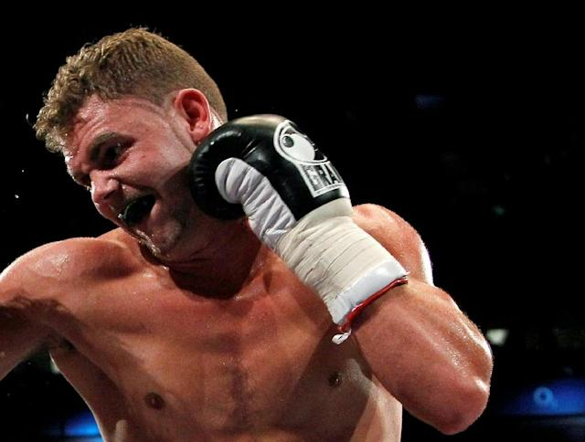 Billy Joe Saunders has held the WBO middleweight title since 2015 (AFP Photo/)