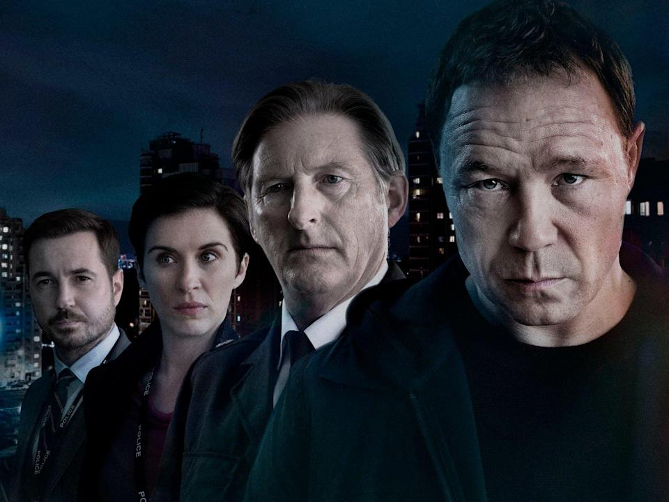 """Line of Duty series 5: Stephen Graham is a """"dangerous"""" addition to the cast. (Credit: BBC)"""