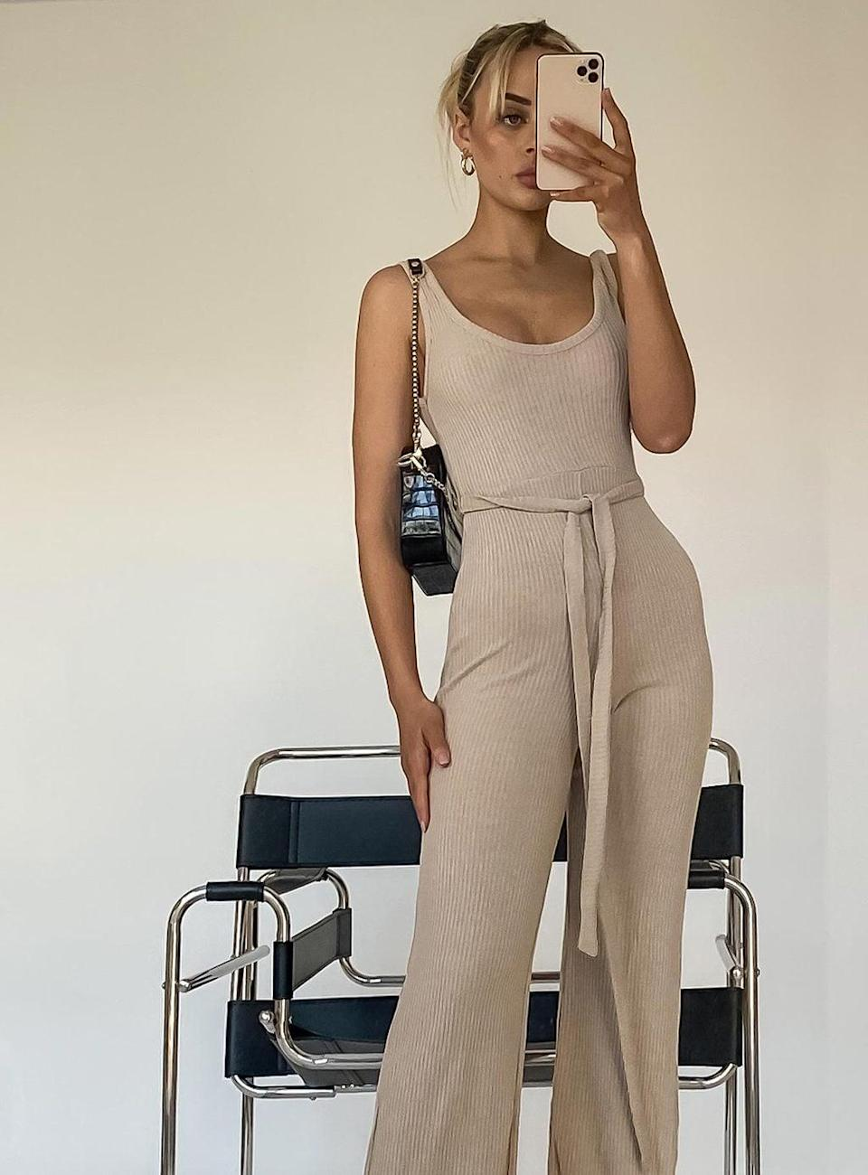 <p>You'll never want to take this <span>Princess Polly Callie Jumpsuit</span> ($43) off.</p>