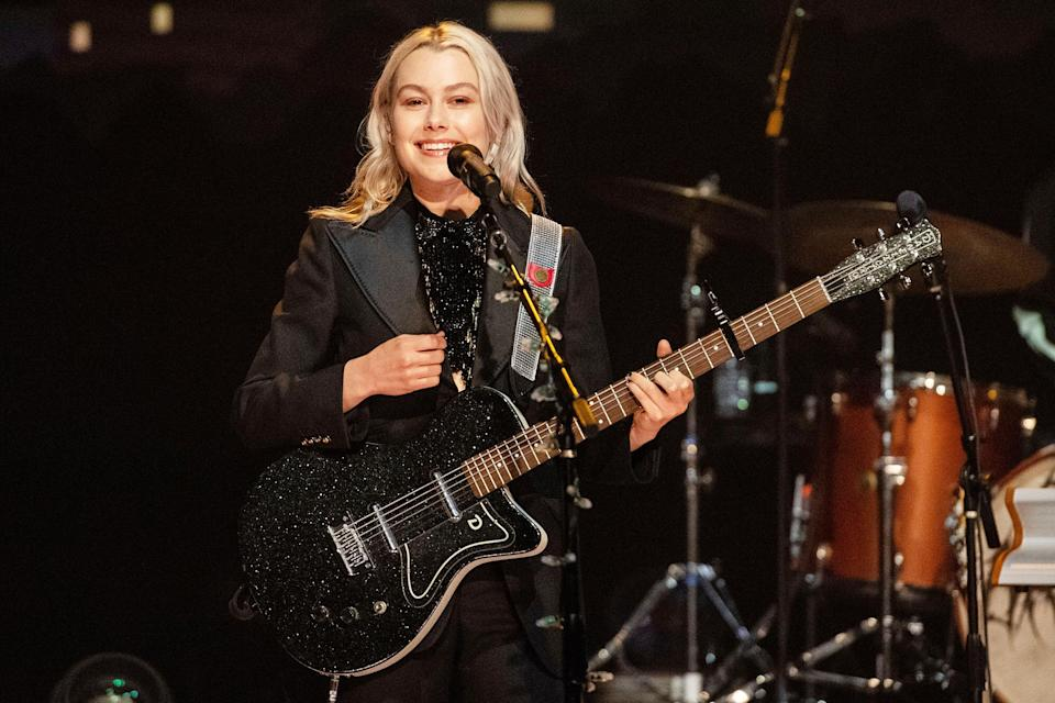 <p>Phoebe Bridgers performs at the Austin City Limits festival taping in Texas on Oct. 7. </p>