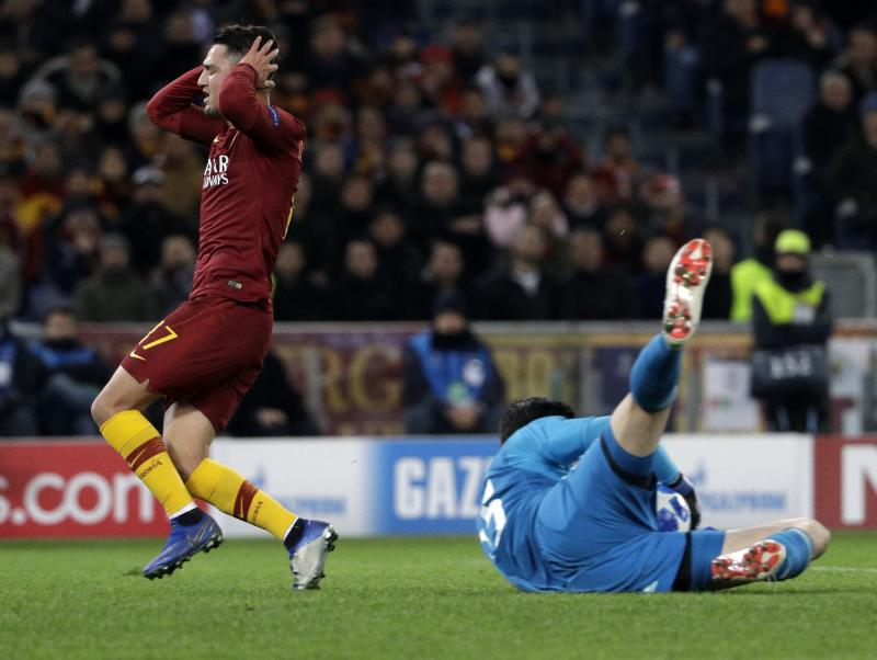 AS Roma vs. Real Madrid - Football Match Report