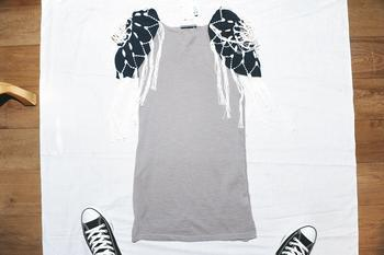 grey seqo dress $3,599