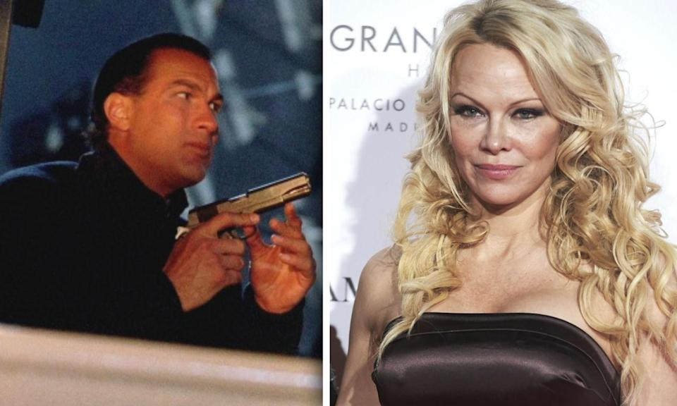 Pamela Anderson says she lost out on a role in 'Under Siege' because she rejected Steven Seagal
