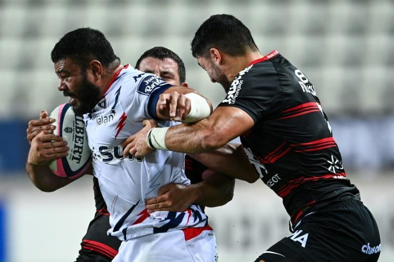 Tolu Latu has scored three tries in 15 games since joining Stade Francais after last year's Rugby World Cup