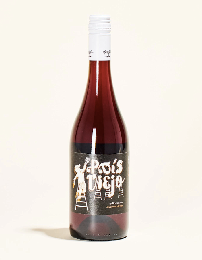 "The French term ""glou glou"" applies to wines that invite glugging (<em>glug glug glug</em>), and this fresh, light, and juicy red is perfect for just that. Similar to a light Pinot Noir, this organic, low-sulfite Pais brings raspberry, cherry, and licorice notes that go best with fish and grilled veggies. $20, Mysa Natural Wine. <a href=""https://mysa.wine/collections/natural-wine-store/products/j-bouchon-pais-viejo"" rel=""nofollow noopener"" target=""_blank"" data-ylk=""slk:Get it now!"" class=""link rapid-noclick-resp"">Get it now!</a>"