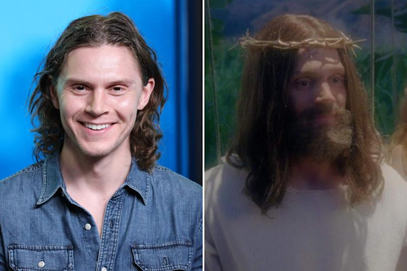 Though, maybe that wasn't as drastic as his appearance as Christ himself. Photos courtesy of Getty Images and IMDB.
