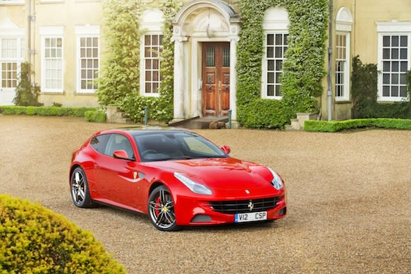Britain buys more Ferraris than any other European country