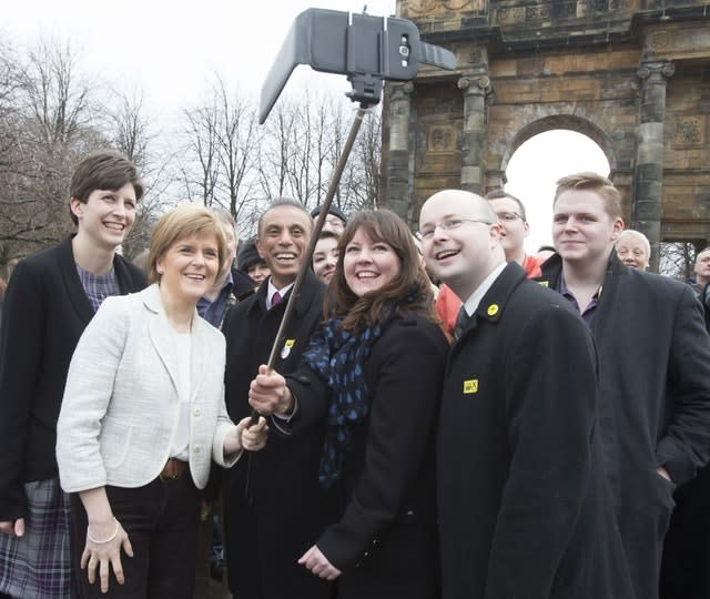 SNP election campaign launch