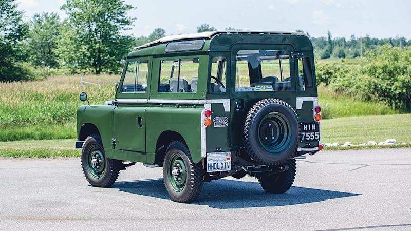The Dalai Lama's 1966 Land Rover Series IIA 88