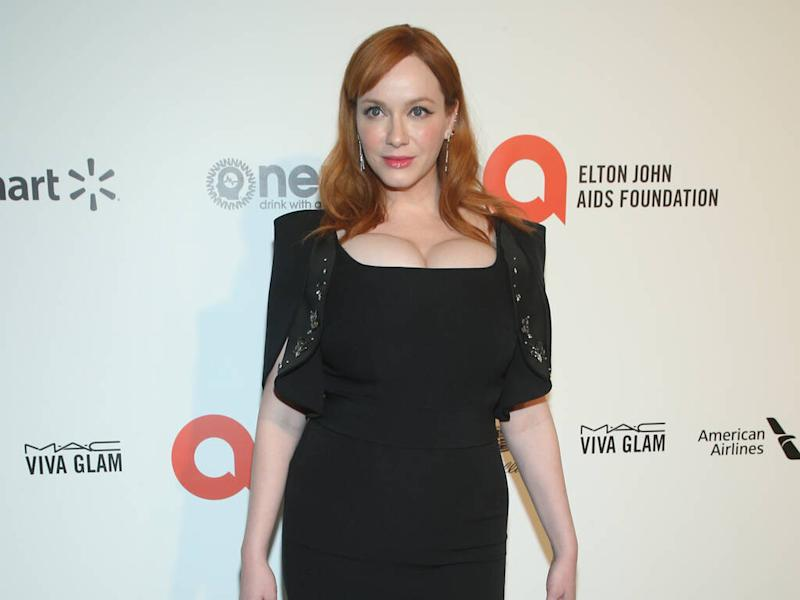 Christina Hendricks used to make her own clothes