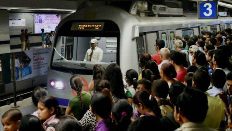 Noida Woman Commits Suicide by Jumping in Front of Train at Sector 16 Metro Station