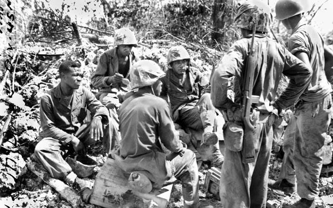 African American Marines in WW2
