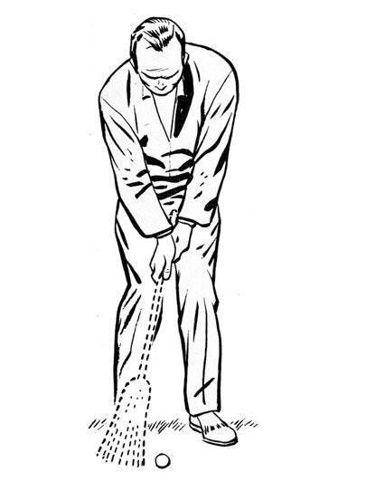 <p>Sometimes words sound like what they describe. A good example is the broom. Anyone who has used one knows it goes <em>whisk</em> when you sweep.</p> <p>I think <em>whisk</em> is a good sound to think about when you hit a chip shot. The clubhead should brush the grass and whisk the shot on its way. There is nothing lazy or sloppy about a chip. It's quick and firm. It whisks.</p> <p>So make your chips whisk. You might even imagine that you're swinging a broom.</p> <p><strong>WHAT I THINK TODAY</strong><br> Very good image. Not only for the sound, the swing shape should be a sweep, too.</p>