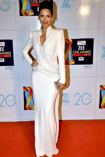 Gupta goes conservative in Dior at the Zee Cine Awards, January 2013