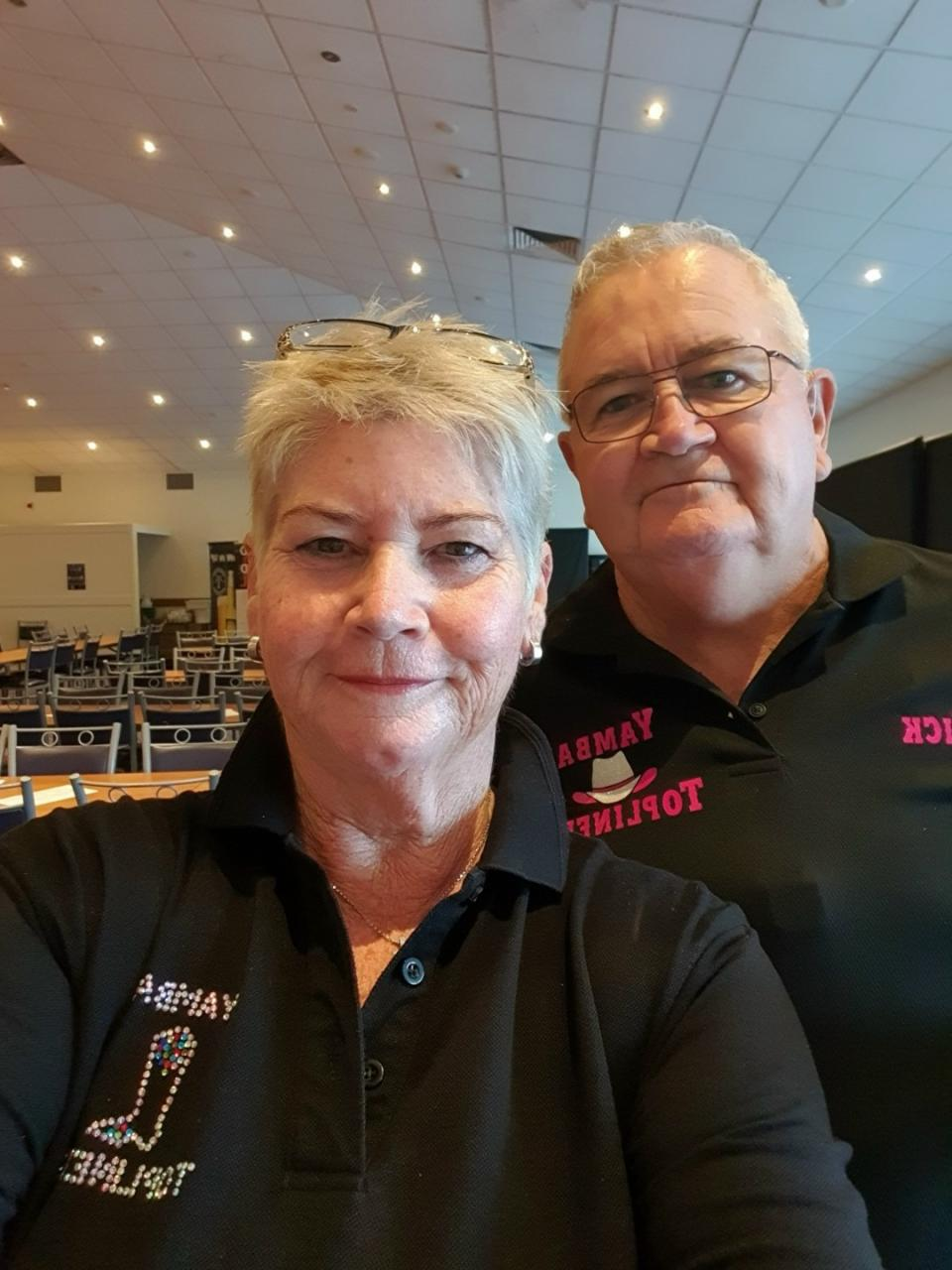 Beth and her husband Mick. Image: Supplied.