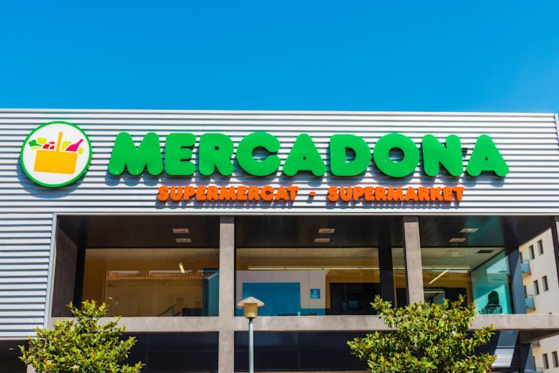 Girona, Spain - July 8, 2016: : Mercadona supermarket. This supermarket chain is sales leader in Spain (Photo: J2R via Getty Images)
