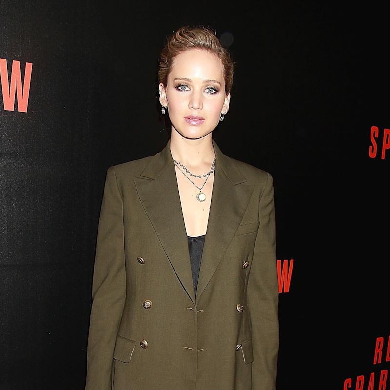 Jennifer Lawrence Shows How to Wear Over-the-Knee Boots on the Red Carpet