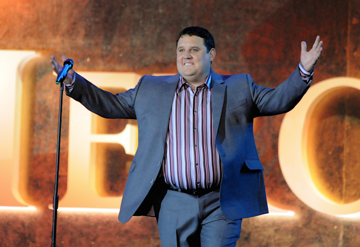 Tickets to Peter Kay's UK tour were in high demand: Getty