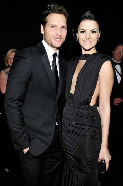 """Peter Facinelli """"Totally Smitten"""" With Girlfriend Jaimie Alexander at SAG Awards 2013 Afterparty"""