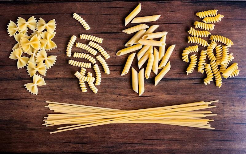 From delicate angel hair to chunky rigatoni Angela Hartnett presents an awesome foursome of simple dishes inspired by regional favourites - Moment RF