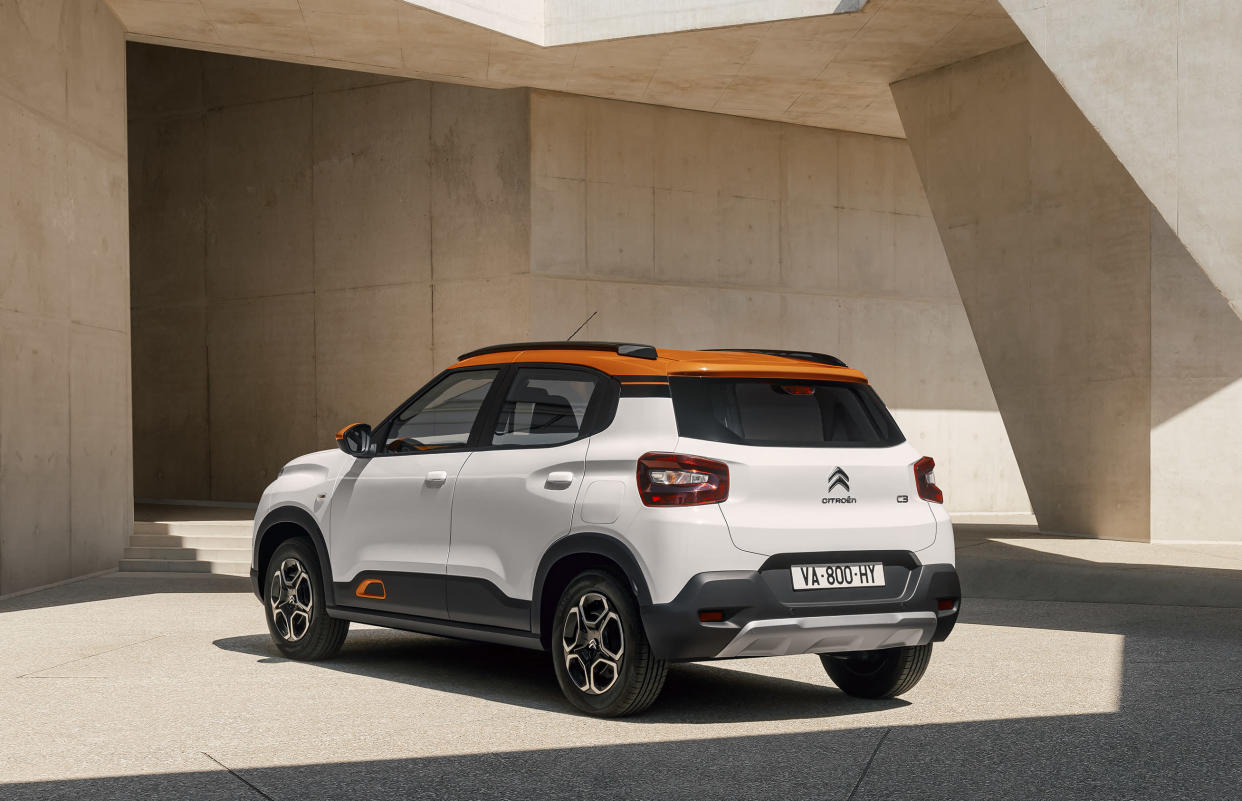 The New C3 is available with a range of personalisation options