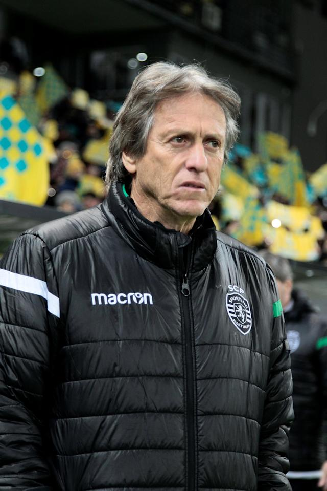 Soccer Football - Europa League Round of 32 First Leg - Astana vs Sporting CP - Astana Arena, Astana, Kazakhstan - February 15, 2018 Sporting coach Jorge Jesus REUTERS/Alexei Filippov