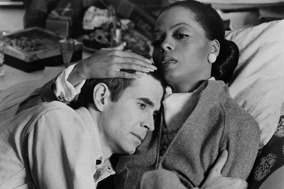 """<p>This film stars Diana Ross, and was directed by Motown legend Berry Gordy. In it, Ross plays Tracy, an aspiring fashion designer who is caught between Sean (Anthony Perkins), a jealous and demanding fashion photographer, and Brian (Billie Dee Williams), a local activist who wants Tracy to support his political career.</p><p><a class=""""link rapid-noclick-resp"""" href=""""https://www.amazon.com/Mahogany-Diana-Ross/dp/B00TGNLX1C?tag=syn-yahoo-20&ascsubtag=%5Bartid%7C10063.g.34933377%5Bsrc%7Cyahoo-us"""" rel=""""nofollow noopener"""" target=""""_blank"""" data-ylk=""""slk:BUY ON AMAZON"""">BUY ON AMAZON</a></p>"""
