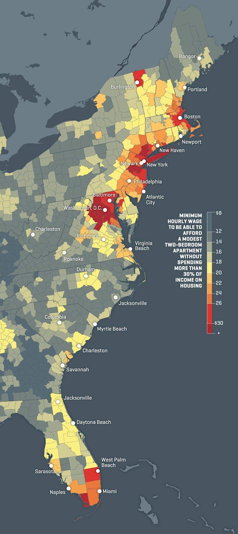 The US Housing Market Is Getting Squeezed See Where Prices Are - View House Prices On Map In Us